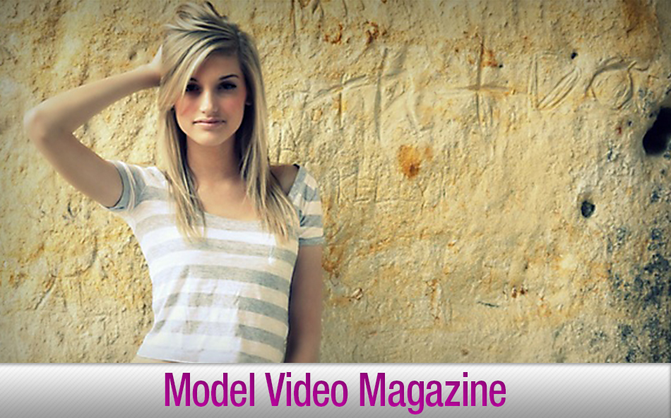 Banner for Model Video Magazine